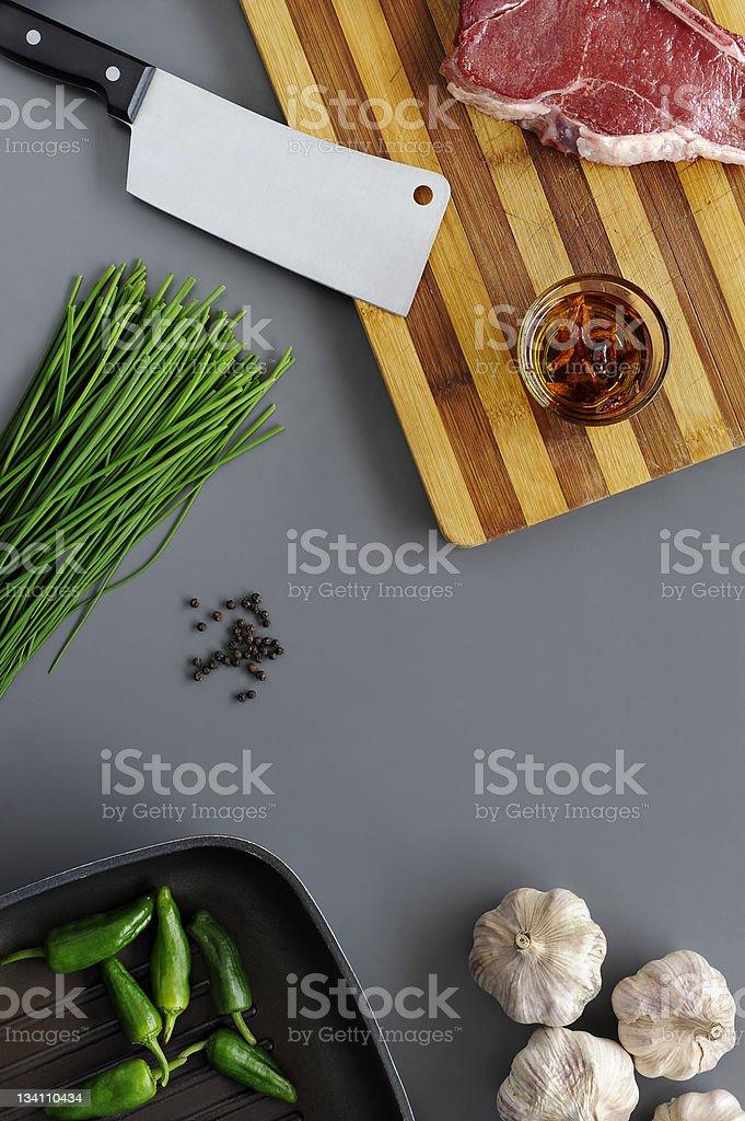 Alimet to prepare food royalty-free stock photo