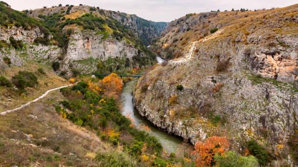 Alistrati Cave - Aggitis River gorge stock photo