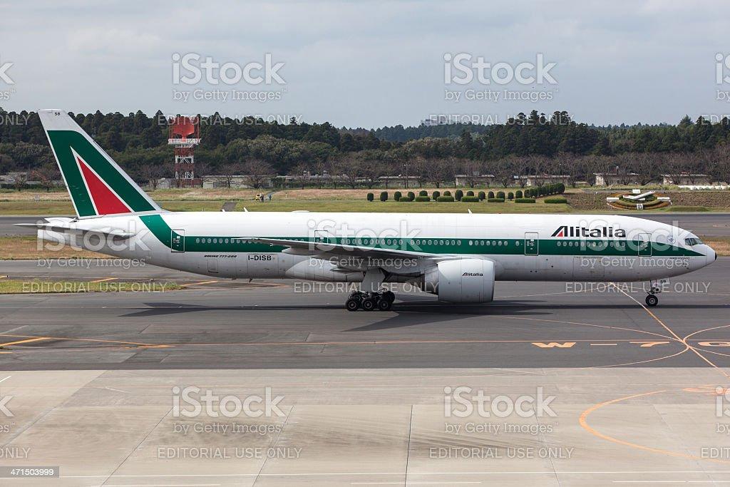 Alitalia Boeing 777-200/ER - foto stock