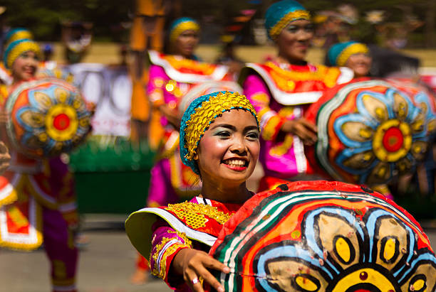 aliwan fiesta - philippines stock photos and pictures
