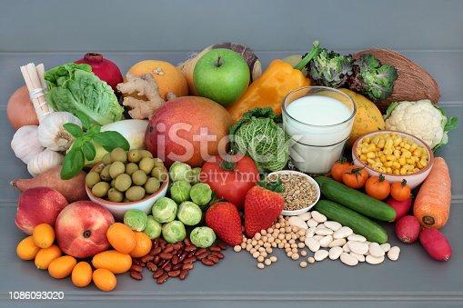 istock Alkaline Health Food Sampler 1086093020