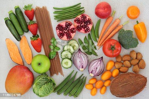 istock Alkaline Health Food Selection 1139724788