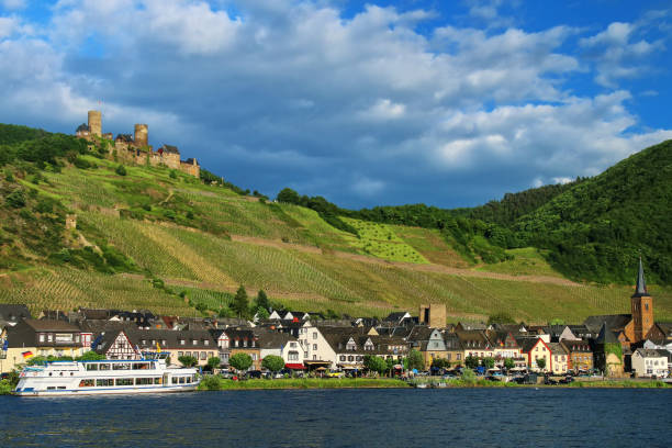 Alken-Stadt an der Mosel in Rheinland-Pfalz, Deutschland. – Foto