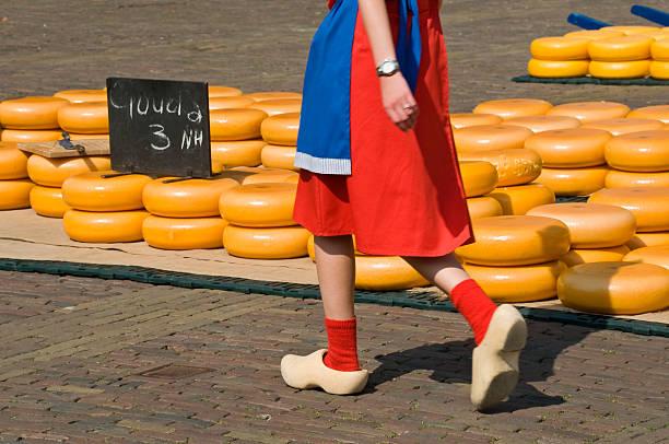 Alkmaar Cheese Market stock photo