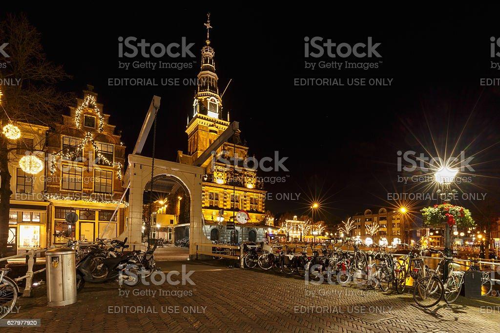 Alkmaar Netherlands stock photo