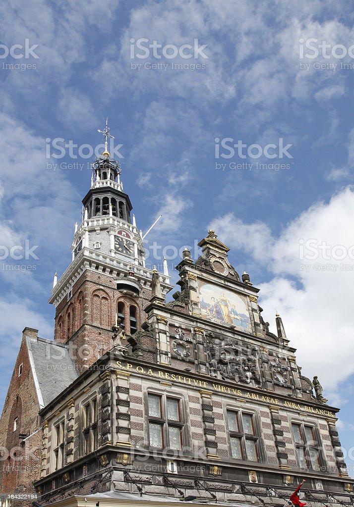 Alkmaar stock photo