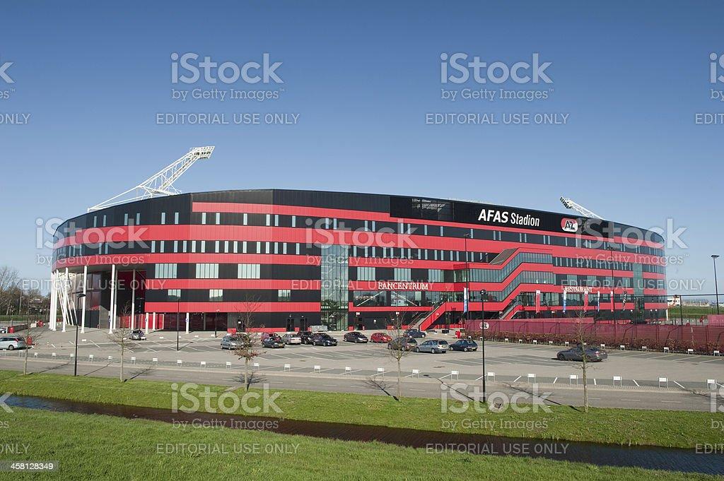AZ Alkmaar soccer stadium stock photo