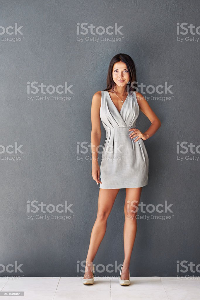 All about business with a sexy side stock photo