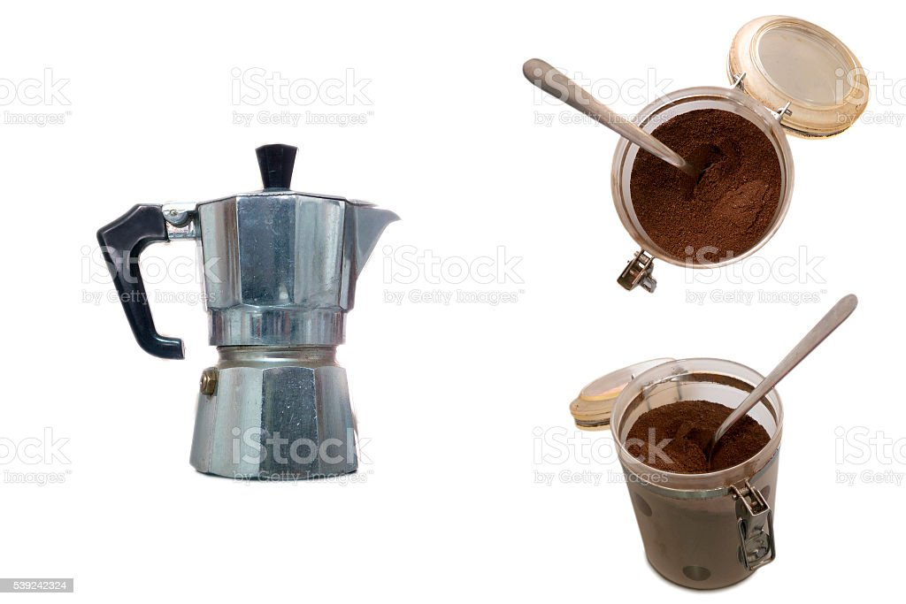 All about coffee royalty-free stock photo