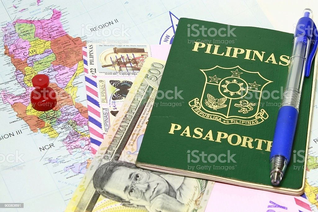 All about Manila royalty-free stock photo