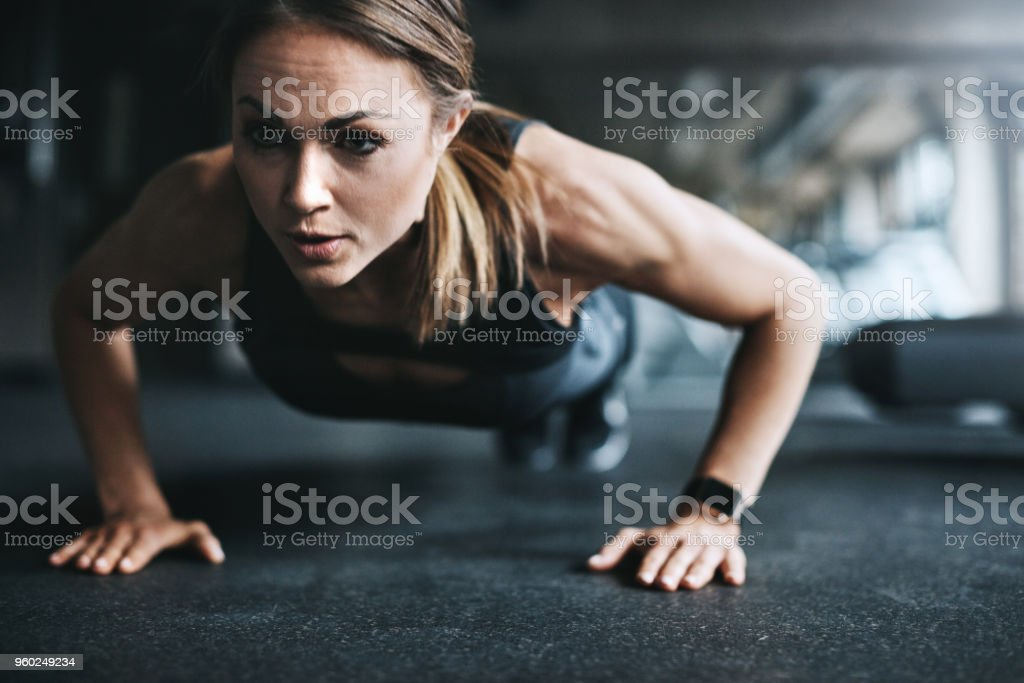 All about that gym life stock photo
