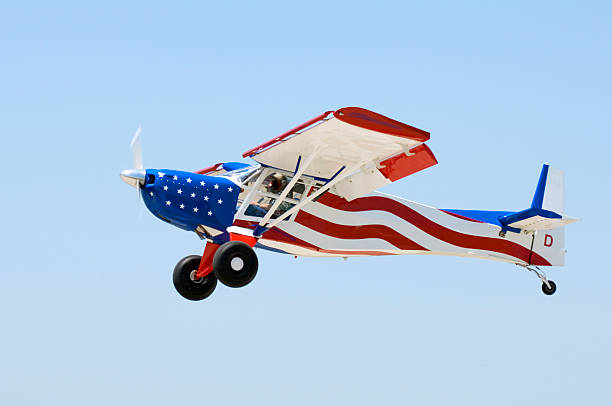 All American Aircraft stock photo