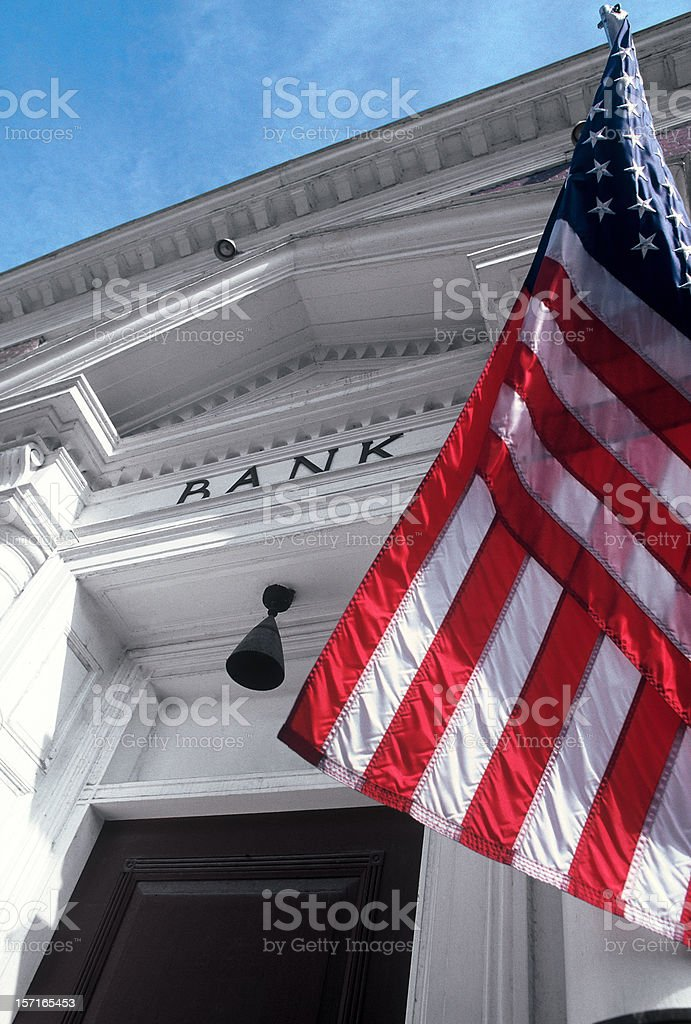 All American Bank royalty-free stock photo