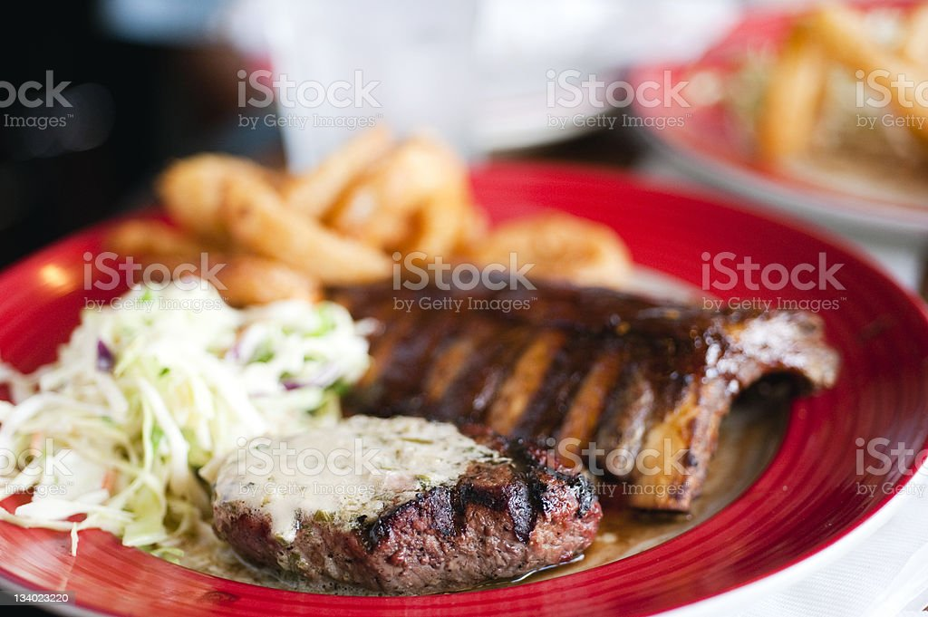 All American Dinner royalty-free stock photo