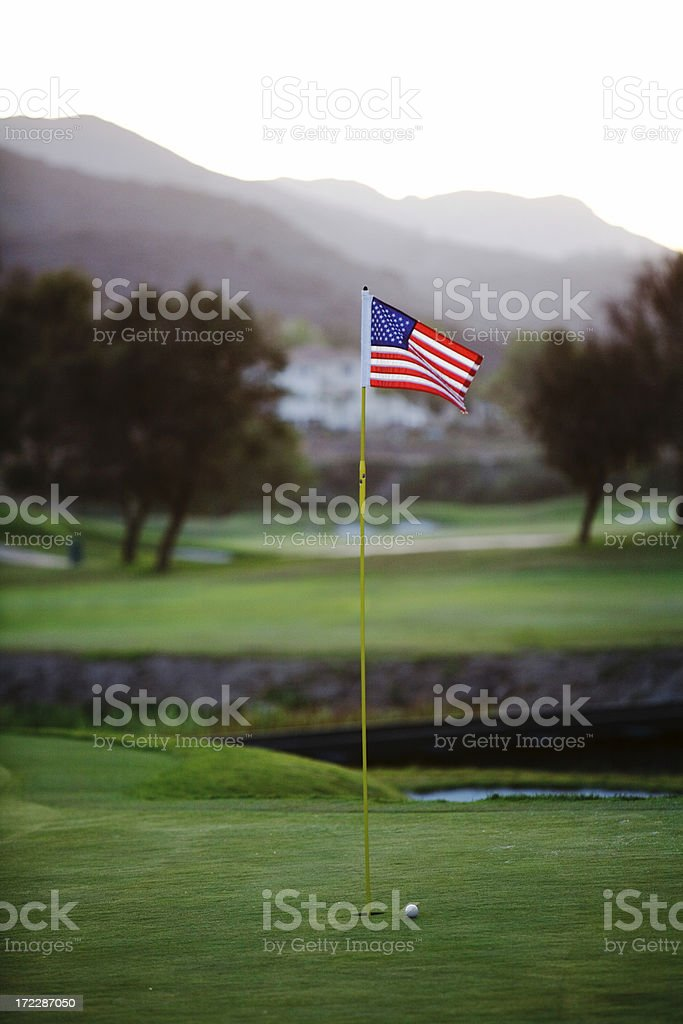 All American Golf Course stock photo