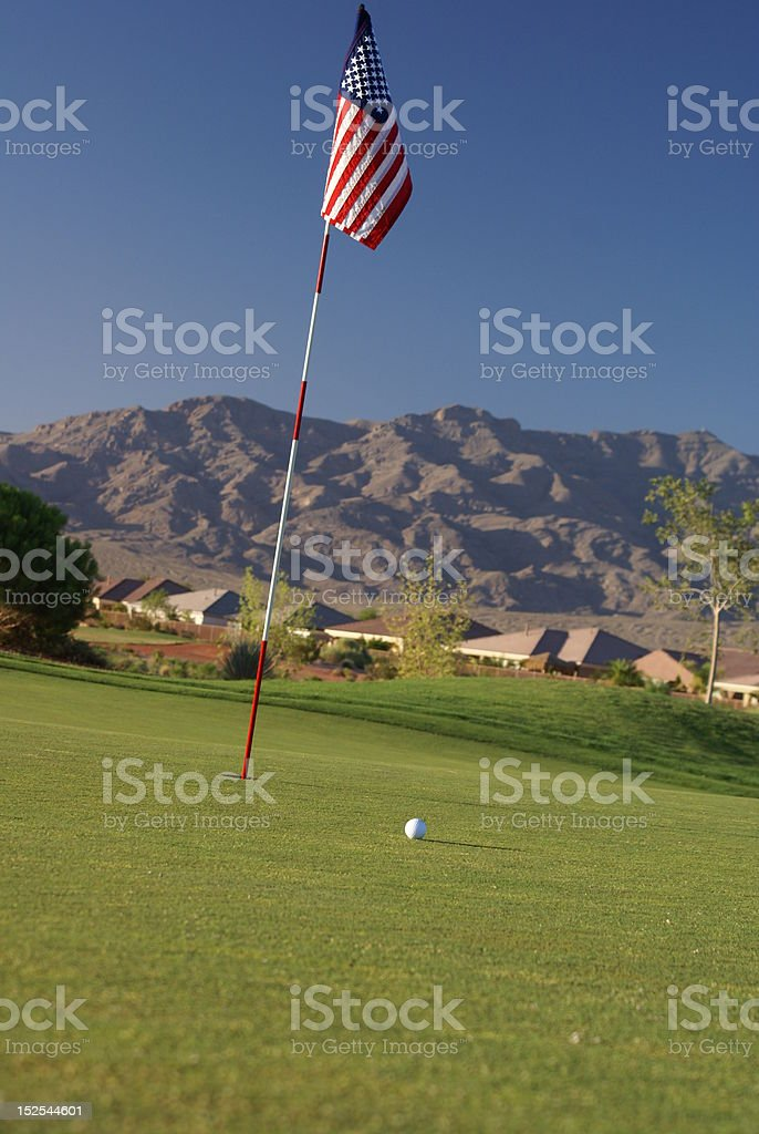 All American Golf stock photo