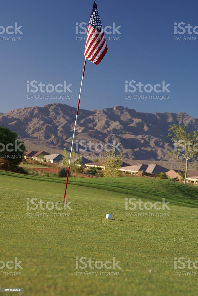 All American Golf stock photo