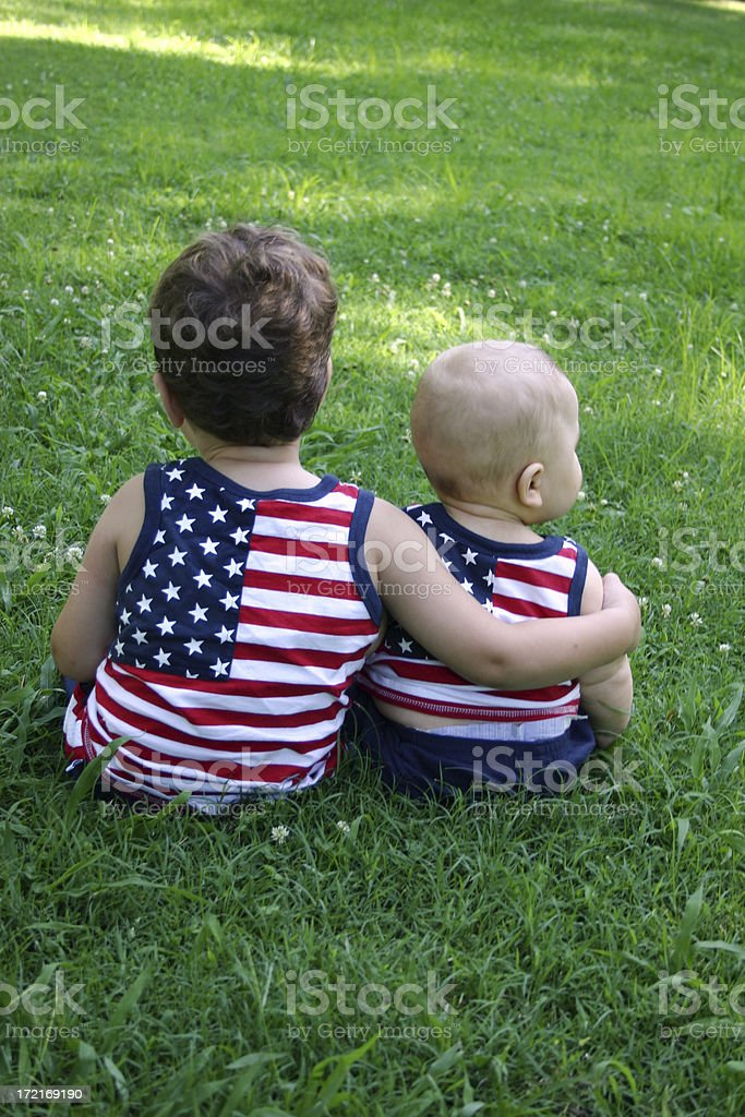 All American royalty-free stock photo
