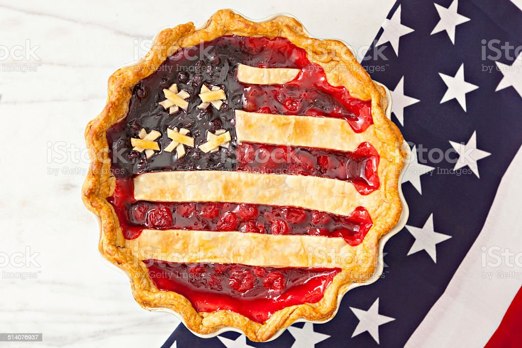 All American  Pie stock photo
