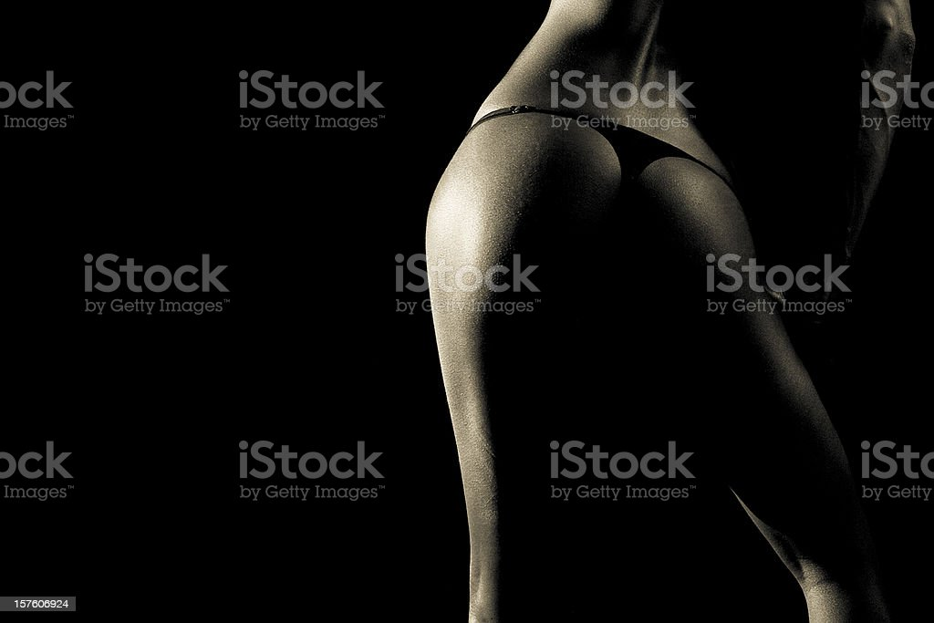 All black stock photo