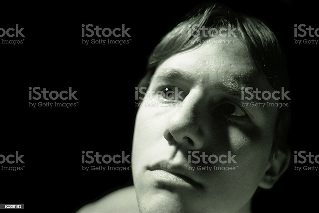 All But A Tear royalty-free stock photo