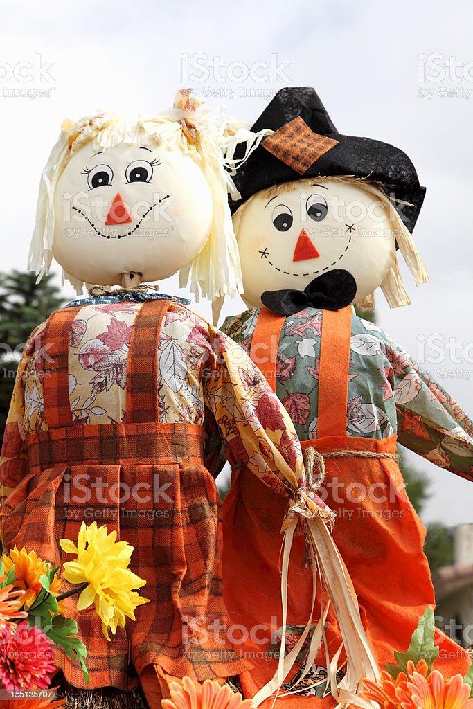 Todos vestidos para colheita de outono e Dia de Ação de Graças - foto de acervo