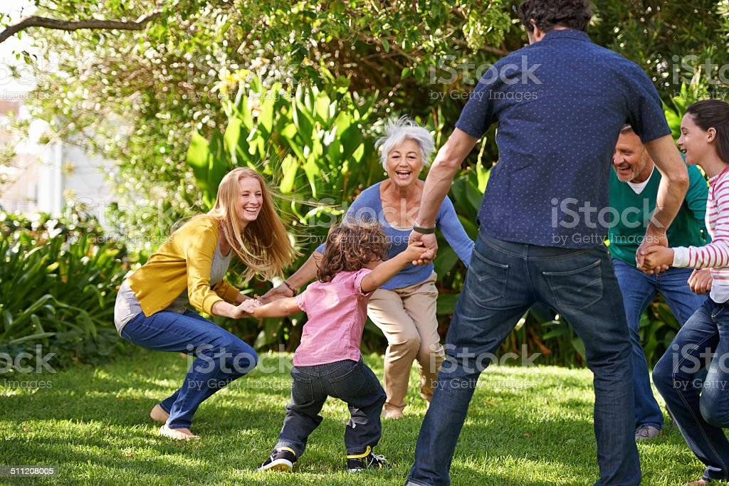 All fall down! stock photo