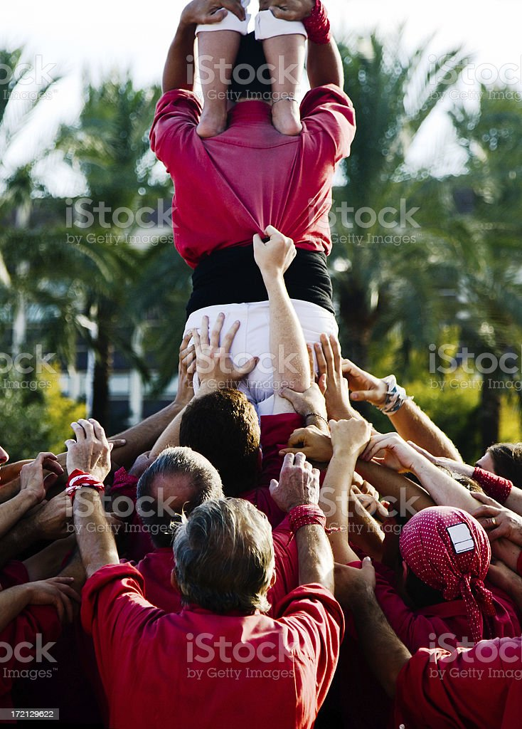 All for one... royalty-free stock photo