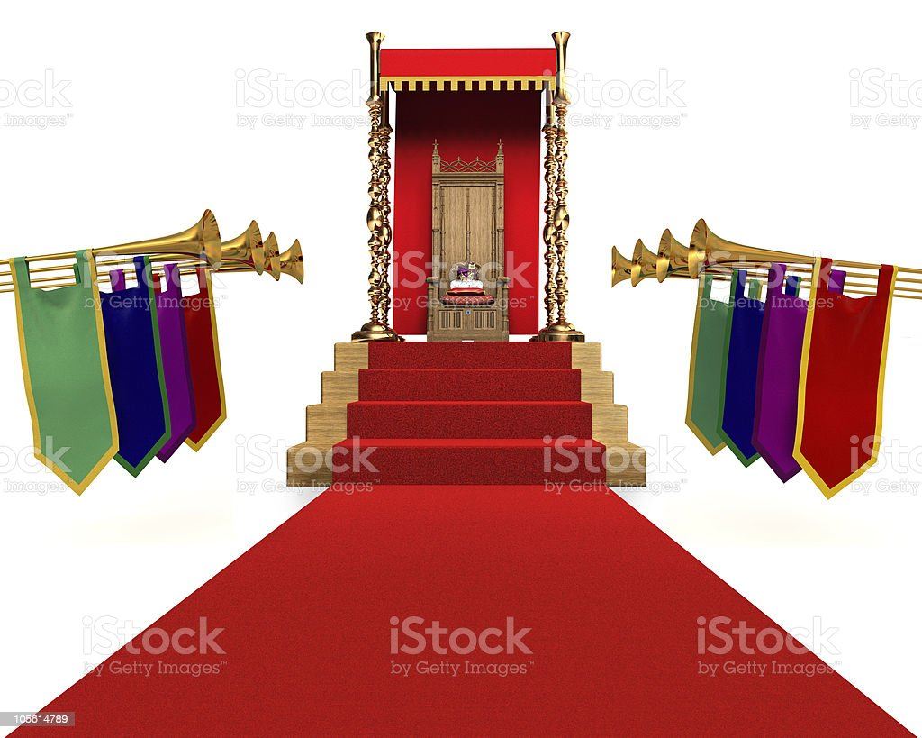 All Hail the King stock photo