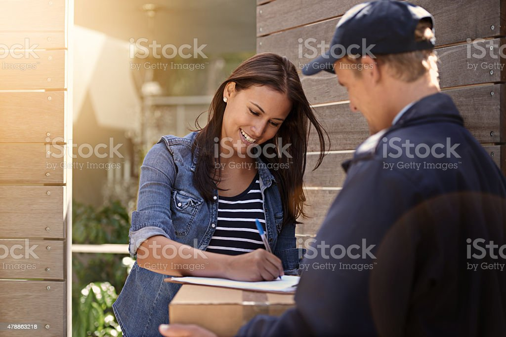 All I need is a signature stock photo