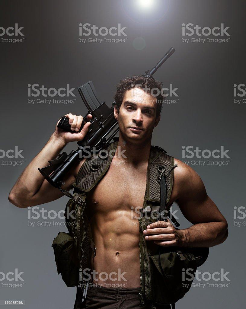 Sexy army guys