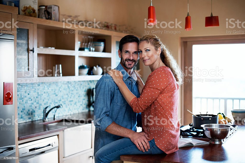 All I need is right here stock photo