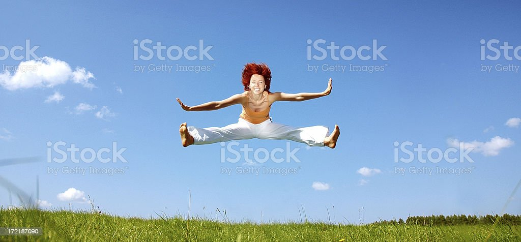 All I want is freedom! royalty-free stock photo