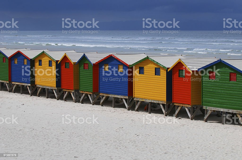 All in a Row royalty-free stock photo