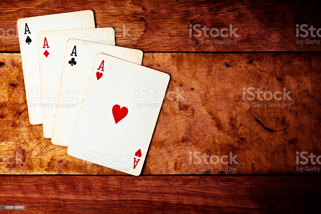 All kind of Ace. stock photo