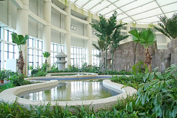 Alle Arten von Pflanzen, Gebäude – Foto