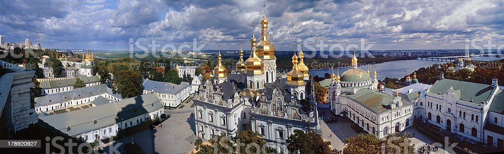All Lavra in one photo royalty-free stock photo