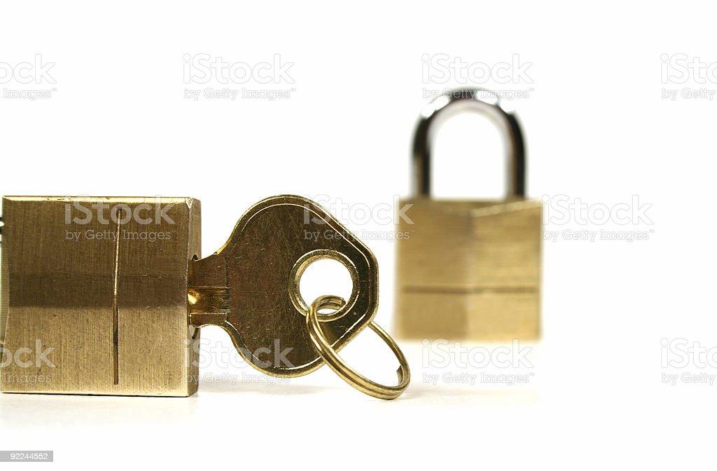 All Locked Up stock photo