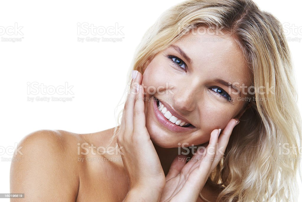 All natural - Skincare & Beauty stock photo