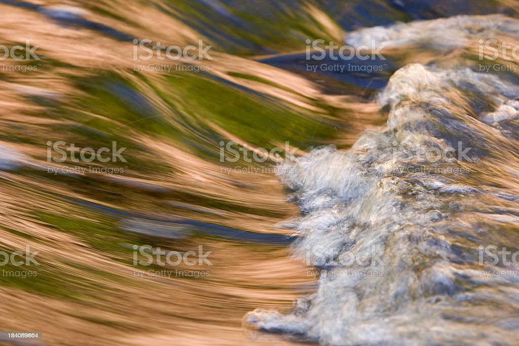 All Natural Stream Blur royalty-free stock photo