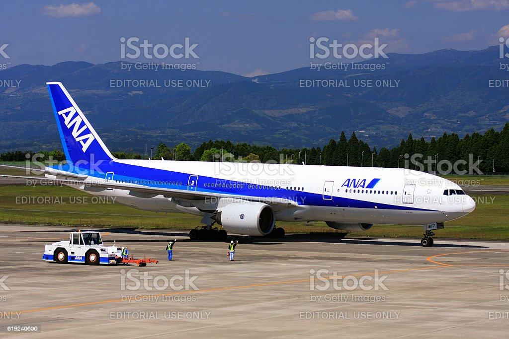 全日空ana の飛行機で鹿児島空港 アジア大陸のストックフォトや画像を多数ご用意 Istock