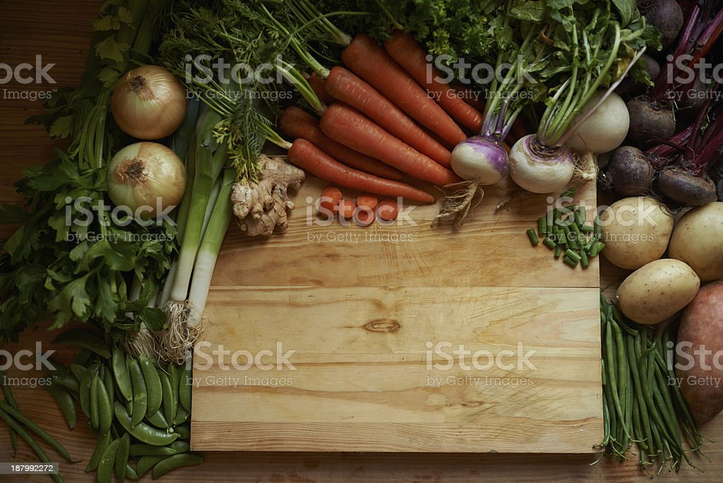 All of nature's goodness stock photo
