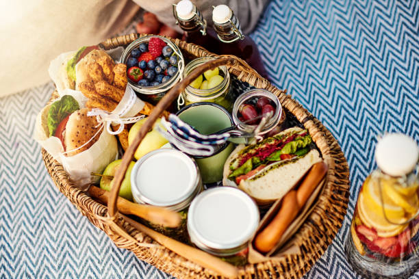 all our favorites! - picnic stock pictures, royalty-free photos & images