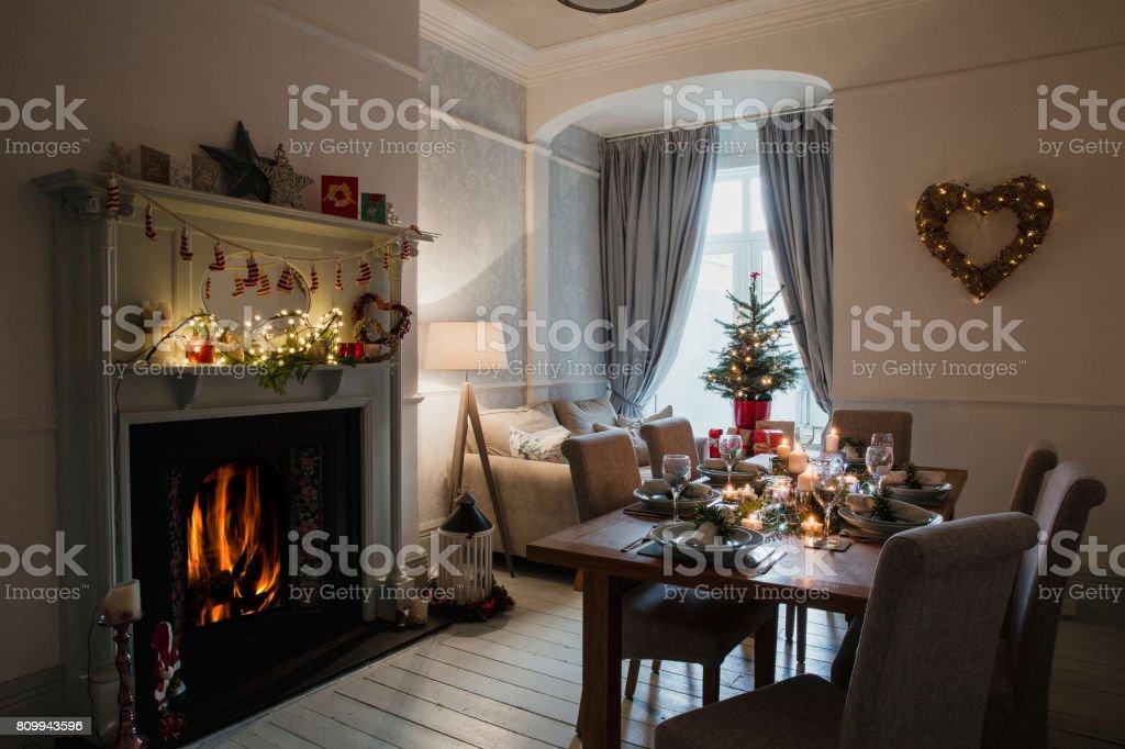 All Prepared For Christmas Dinner stock photo