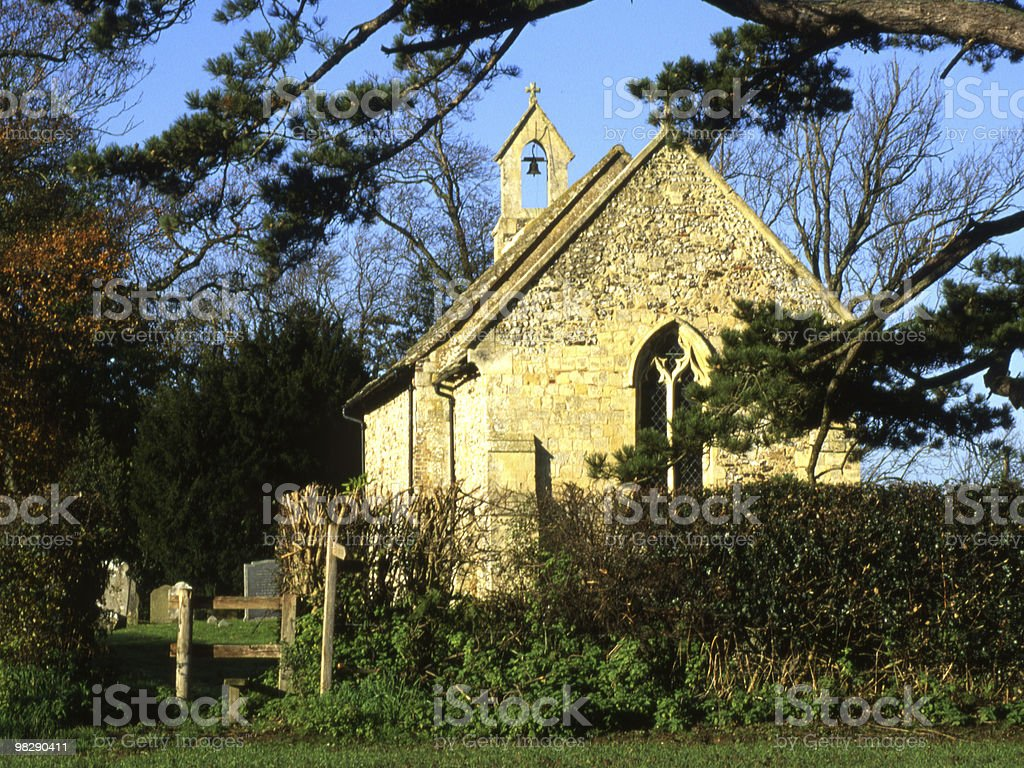 All Saints Church. Buncton. West Sussex. England royalty-free stock photo