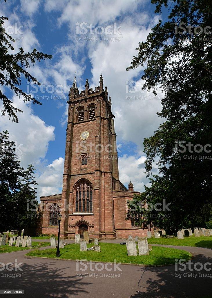 All Saint's Church, Hertford, Hertfordshire stock photo