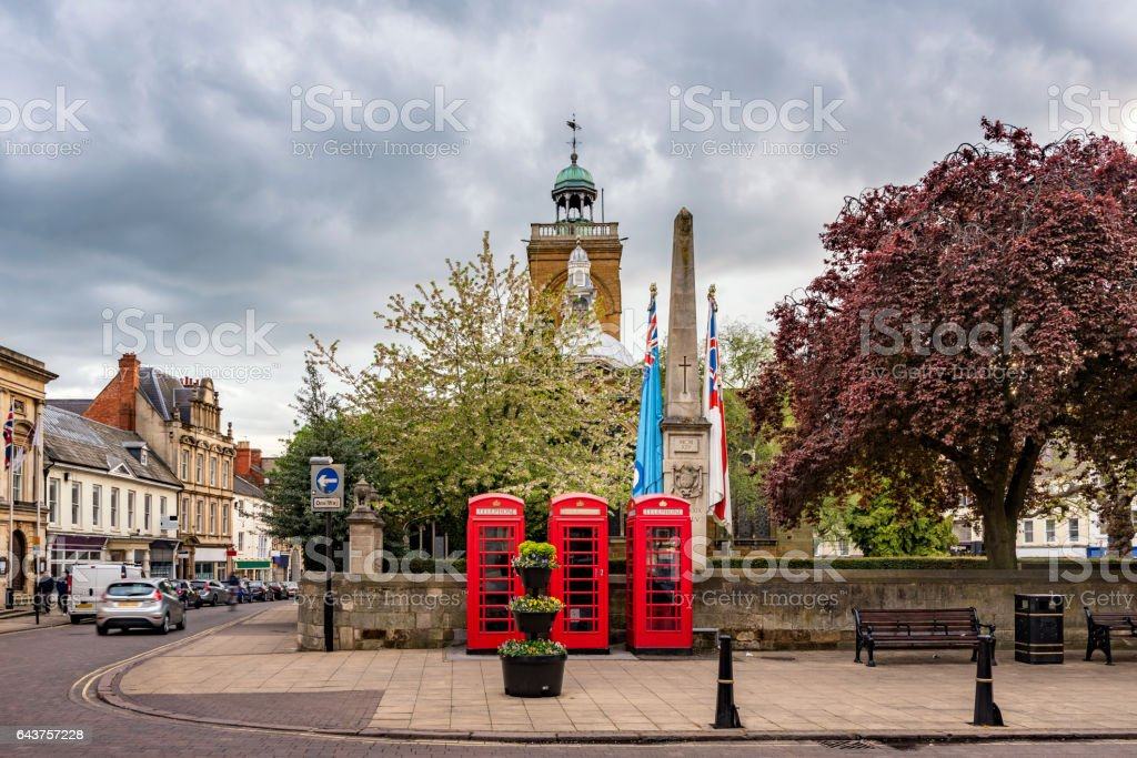 All Saints church, Northampton stock photo