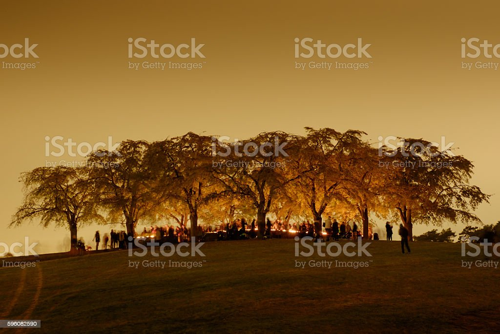 All Saints Day royalty-free stock photo