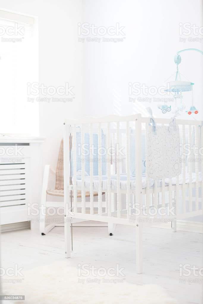 All set for the new arrival royalty-free stock photo