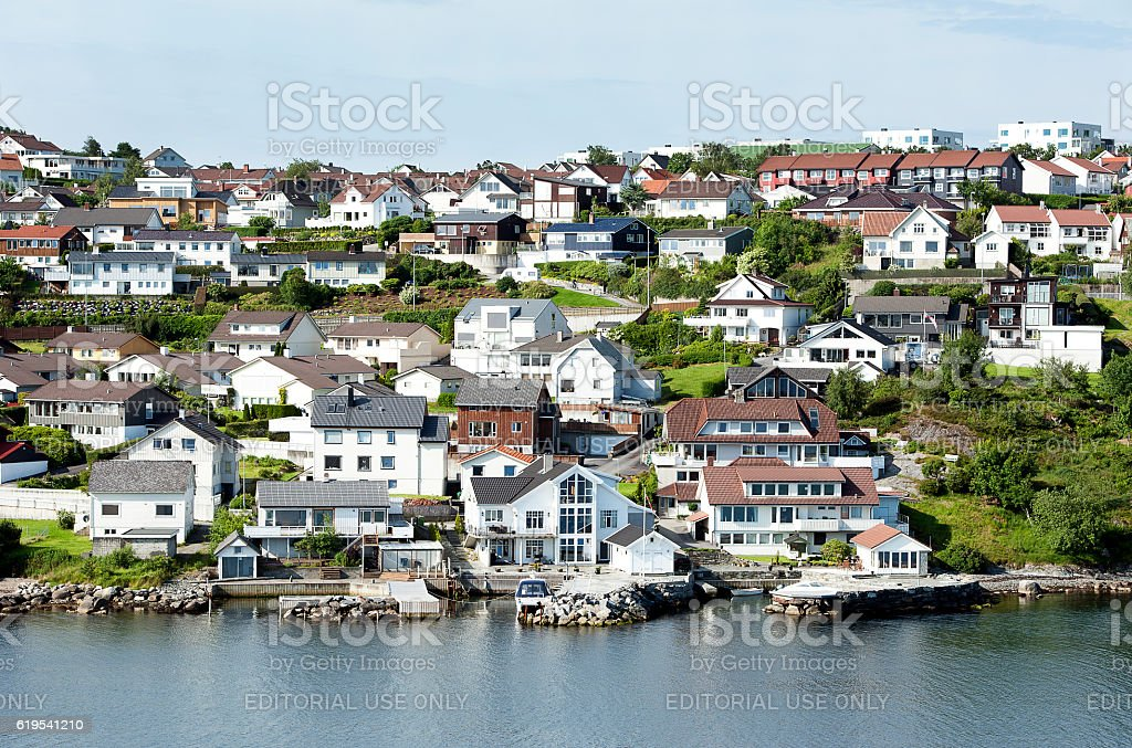 All shapes and sizes, Aalborg, Denmark stock photo
